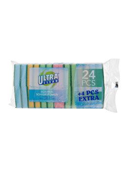 Set Ultra Clean, 28 bureti de bucatarie, 4 culori asortate, 974000020, 5.6 litri, 34.5 x 17 x 5 cm, poliuretan, Multicolor poza
