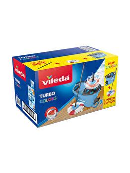 Set curatenie Easy Wring Turbo, Vileda, Albastru
