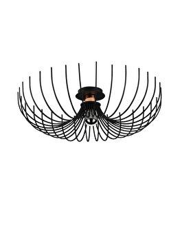 Candelabru Noor Aspendos - N-639, negru imagine
