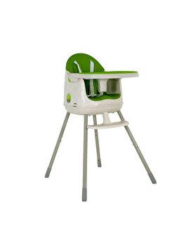 Scaun de masa MULTI DINE 3in1 pentru copii CURVER, 64 x 90 x 60 cm, plastic, Verde