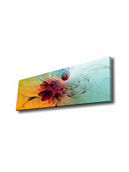 Tablou decorativ, Glory, 887GLR1001, 30 x 90 cm, CANVAS, Multicolor imagine
