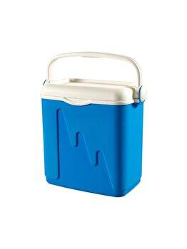 Lada frigorifica portabila pentru camping CURVER, 20 L, 42.8 x 39.6 x 26.5 cm, plastic, Albastru imagine