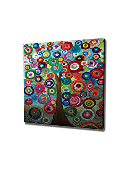 Tablou decorativ, Vega, 265VGA1303, 45 x 45 cm, CANVAS, Multicolor imagine