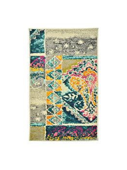 Covor Decorino Modern & Geometric C23-031301, 100 x 150 cm, polipropilena, Multicolor elefant