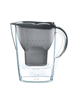 Cana filtranta Marella Cool MAXTRA+, Brita, BR1026445, 2.4 l , plastic, Gri imagine