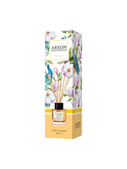 Odorizant cu betisoare Areon Home Perfume, 50 ml, Osmanthus imagine