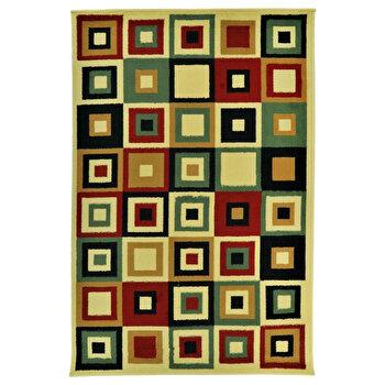 Covor Decorino Modern & Geometric C116-030206, 67 x 120 cm, polipropilena, Multicolor