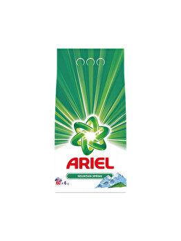 Detergent automat Ariel Mountain Spring 6 kg, 60 spalari imagine