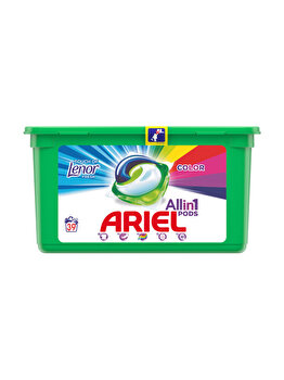Detergent capsule Ariel All in One PODS Touch of Lenor Color 39 spalari imagine