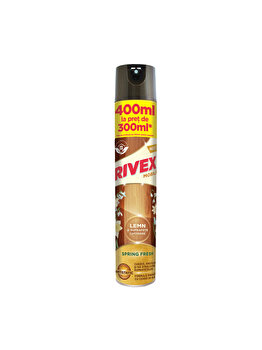Spray pentru mobila Rivex, spring fresh, 400 ml elefant