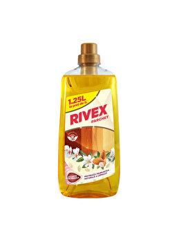 Solutie pentru parchet Rivex, cu ulei de migdale, 1.25 l imagine