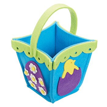 Cos pentru oua - Kitchen Craft, 14 cm x 14 cm x 14 cm, HOPBASK, Multicolor