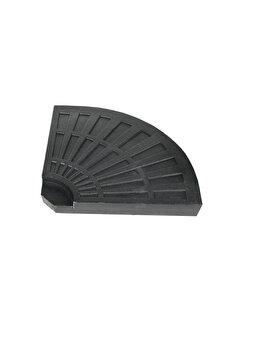 Placa de greutate Heinner,STGU001, 46 x 46 x 4.5 cm, 12 kg, plastic si beton imagine