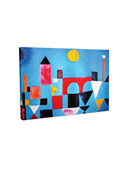 Tablou decorativ, Vega, 265VGA1235, 30 x 40 cm, CANVAS, Multicolor imagine