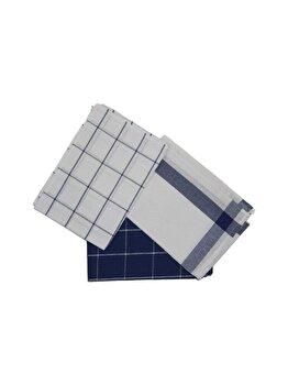 Set prosoape de baie, Eponj Home, 6 piese, 60 x 45 cm, 336EPJ1107, bumbac, Albastru imagine