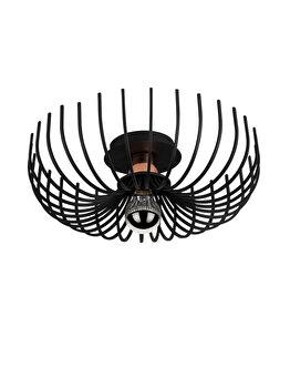 Candelabru Noor Aspendos - N-641, negru imagine
