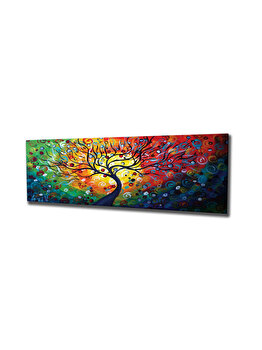 Tablou decorativ, Vega, 265VGA1285, 30 x 80 cm, CANVAS, Multicolor imagine
