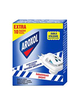 Aparat electric cu 10 pastile antitantari Aroxol elefant
