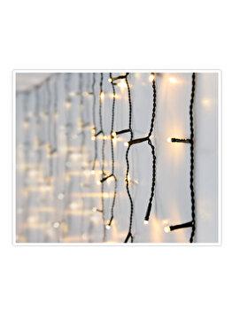 Instalatie luminoasa Koopman Int., 180 LED-uri, 3 m, Galben imagine