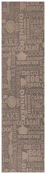 Traversa Decorino Modern & Geometric CT260-131212, 50 x 400 cm, poliester, Gri elefant