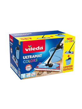 Set curatenie Ultramax, Vileda, 10 L, Albastru imagine