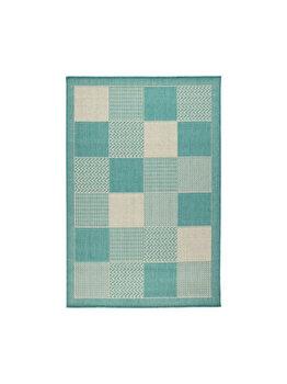 Covor Modern & Geometric Fox, Decorino, C23-032507, 100 x 150 cm, polipropilena, Albastru imagine