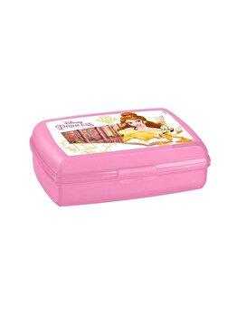Cutie alimente Multisnap CURVER, 1.3 L, model PRINCESS, 19.5 x 6.5 x 14.3 cm, plastic, Roz imagine