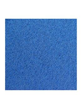 Mocheta Decorino Unicolor CM222-160603, 200 x 800 cm, polipropilena, Albastru elefant