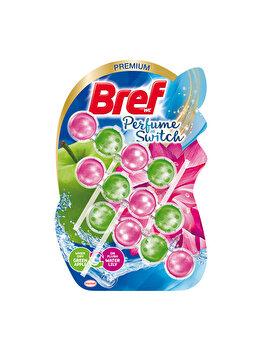 Odorizant toaleta Bref Perfume Switch Mar-Nufar, 3 x 50 g imagine