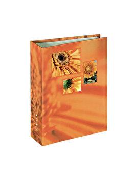 Album foto Hama Singo, 106260, 100poze, 10 x 15 cm, Portocaliu imagine