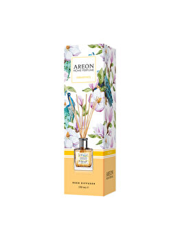 Odorizant cu betisoare Areon Home Perfume, 150 ml, Osmanthus imagine