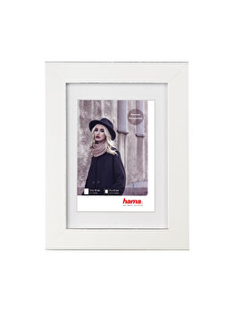 Rama foto Hama Valentina, 175222, 13 x 18 cm, plastic, Alb imagine