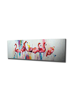 Tablou decorativ, Vega, 265VGA1480, 30 x 80 cm, CANVAS, Multicolor imagine