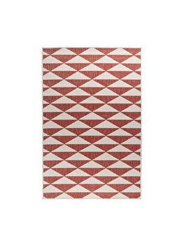 Covor Reversibil Modern & Geometric Titor, Decorino, C26-032706, 120 x 180 cm, polipropilena, Multicolor elefant