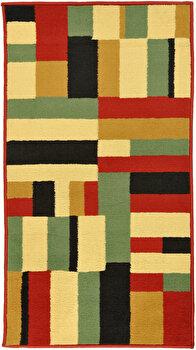 Covor Decorino Modern & Geometric C116-030219, 67 x 120 cm, polipropilena, Multicolor