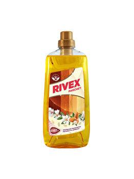 Solutie pentru parchet Rivex, cu ulei de migdale, 1 l elefant