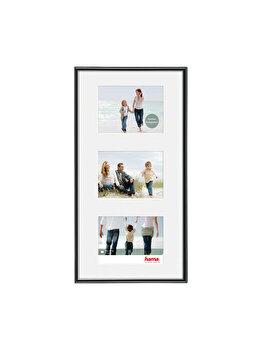 Rama foto Hama Madrid, 66596, 23 x 45 cm, plastic, Negru imagine