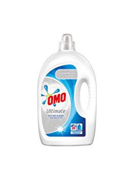 Detergent lichid Omo Ultimate Active Clean, 60 spalari, 3 l imagine