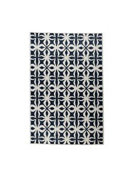 Covor Reversibil Modern & Geometric Kendal, Crem/Albastru, 160x235 cm, C97-032705