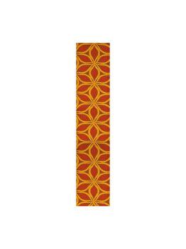 Traversa Decorino Floral CT235-131225, 67 x 800 cm, poliester, Multicolor imagine
