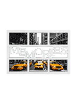 Rama foto Hama Budapest Memories, 100998, 6 x 10 x 15 cm, plastic, Alb imagine
