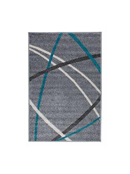 Covor Modern & Geometric Wayne, Gri, 100x150 cm, C23-031908