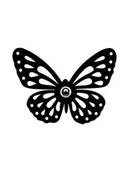 Aplica de perete Shadow 599 - A, neagra imagine