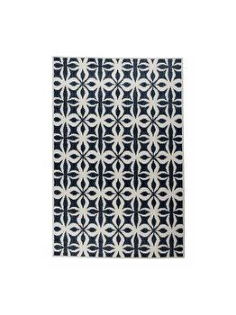 Covor Reversibil Modern & Geometric Kendal, Crem/Albastru, 120x180 cm, C26-032705