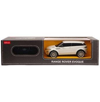 Masina cu telecomanda Range Rover Evoque alb scara 1:24