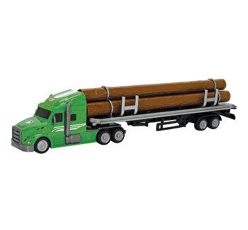 Masinuta Dickie Camion - Camionul cu busteni