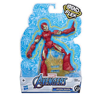 Avengers, Figurina Bend and Flex Iron Man