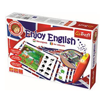Joc educativ Invata engleza, cu stilou electronic