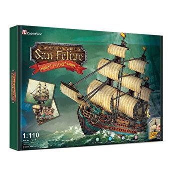 Puzzle 3D - Nava San Felipe, 248 piese