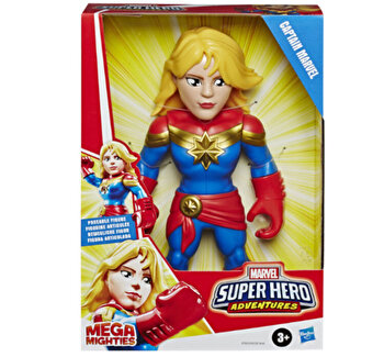 Marvel Super Hero Adventures - Figurina Mega Mighties, Captain Marvel